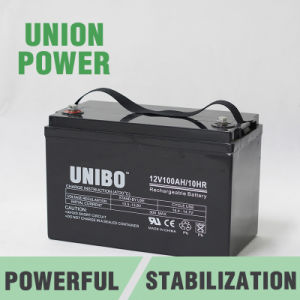 Solar Battery High Performance 12V100ah Solor System AGM Lead Acid Battery pictures & photos