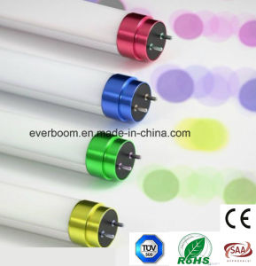 High Lumen LED Tube Lighting with Shining Color End Cap