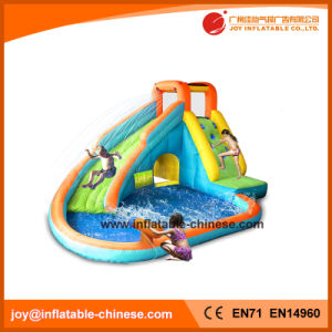 Kids Mini Inflatable Dual Lane Slide Water Park (T11-303) pictures & photos