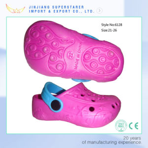 Pink Lovely Girl Shoes, EVA Summer Style Kids Clogs pictures & photos
