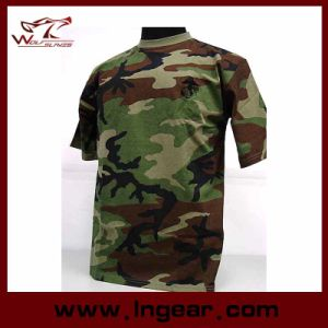 Military Tactical Fashion Camouflage Short Sleeve T-Shirt Catton T-Shirt Fashion pictures & photos