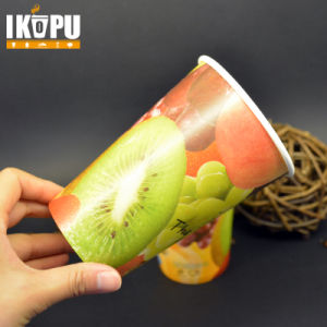 Cold Drink Paper Cup with Double PE pictures & photos
