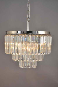 Restoration Chandelier Hanging Clear Crystal Lamp (KAD6000-22IO) pictures & photos