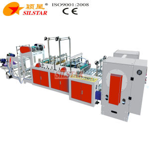 Automatic Double Lines Star Seal Bag Making Machine pictures & photos