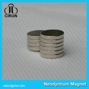 Sintered N33 N52 Disc NdFeB Magnetic Magnet with Zinc Coating for Motors pictures & photos