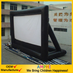 Air-Sealed Rear Projection Inflatable Movie Screen for Advertising pictures & photos