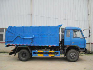 Dongfeng 8tons Sewage Suction Type Sewer Cleaning Truck pictures & photos