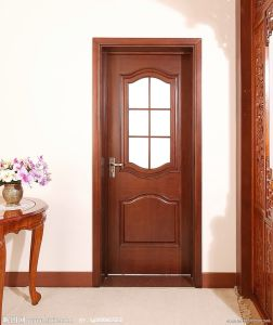 Solid Wood Door with Glass (DS-425) pictures & photos