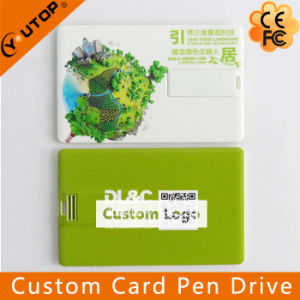 Credit Card USB Pen Drive with Suspended Display Box (YT-3101) pictures & photos