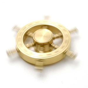 Golden Rudder Style Hand Spinner with High Speed Finger Spinner pictures & photos