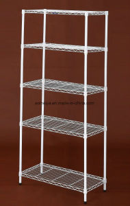 Amj Powder Coated Metal Wire Shelf for Home Kitchen  pictures & photos