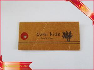 Kraft Paper Hang Tag Custom Logo Printed Tag pictures & photos