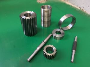Alloy Steel Gear Shafts CNC Machining Parts pictures & photos