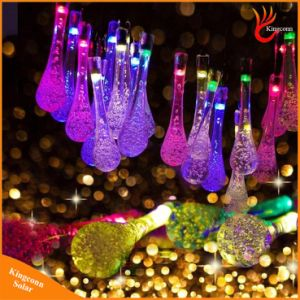 20/30 LED Water Drop Solar Powered String Lights LED Fairy Light for Garden Wedding Christmas Party Festival Outdoor Indoor Decoration pictures & photos