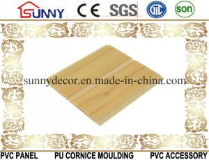 Wooden Laminated Plastic Building Material PVC Ceiling Wall Panel, Cielo Raso De PVC pictures & photos