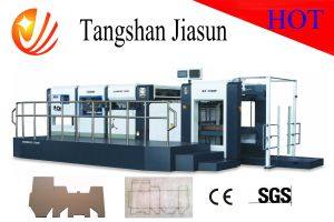 High Precision Semi-Automatic Die-Cutting and Creasing Machine pictures & photos