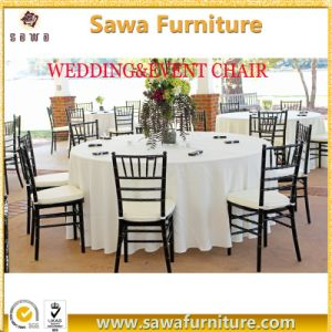 Cheap Stackable Wedding chair Metal Stackable Chiavari Chair Factory pictures & photos