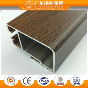 6063 Series Wood Grain Aluminium Window and Door Profile pictures & photos