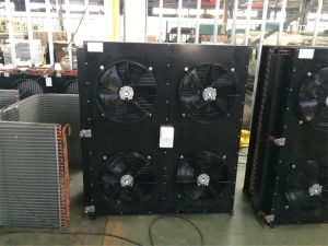 China Hot Sale Fin Type Air Cooled Condenser for Refrigeration Condensing Unit pictures & photos