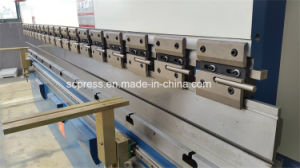 Hydraulic CNC Press Brake We67K- 100ton 3200mm with Delem System pictures & photos