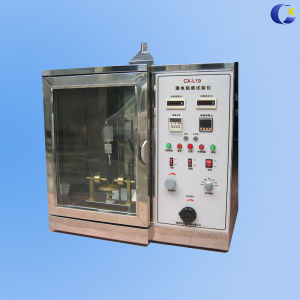 China Facory UL94 Horizontal Vertical Flame Tester for Lab Test Equipment pictures & photos