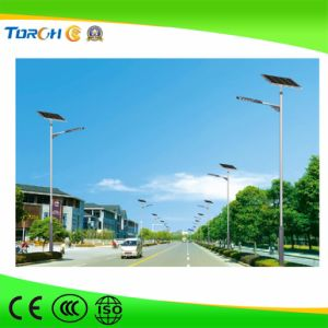 Hot-Selling Li-ion Battery Solar Street Light 40W LED Factory Price pictures & photos