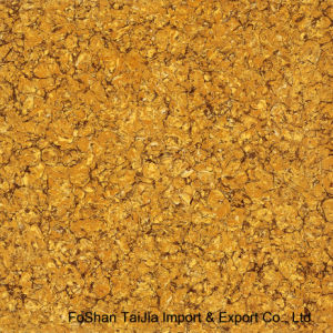 600X600mm Building Materials Golden Pilate Polished Porcelain Floor Tile (TJ6205) pictures & photos