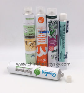 Pets Care Food Pharmaceutical Ointment Cream Empty Aluminum Collapsible Tube pictures & photos