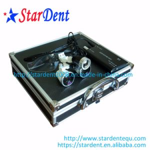 New Design Dental Loupes with Light Portable LED Headlight Dental Surgical Medical Loupes pictures & photos