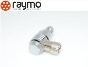 Raymo 102 103 1031 104 Series Metal Circular Push Pull Elbow Connector pictures & photos