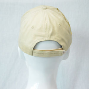 Fashion Golden Cotton Baseball Cap with 3D Embroidered pictures & photos