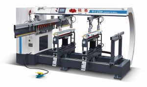 Three Rows Woodworking Boring Machine for Panel Furniture pictures & photos