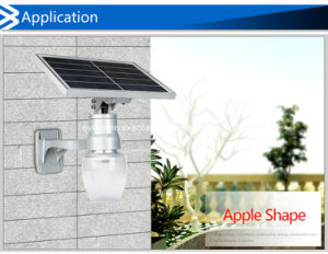 Solar Apple/Peach Shaped Garden All in One Solar Light pictures & photos