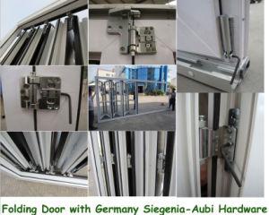 PVC Slide Glass Folding Door, Plastic Bifold Door pictures & photos
