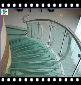 Toughened Safety Sandwich Glass for Stair Step pictures & photos