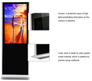 55-Inch Indoor Waterproof LCD Advertising Digital Signage Software pictures & photos