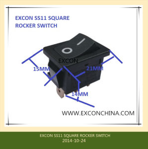Ss11 Rocker Switch with 16A High Rating UL Switch pictures & photos