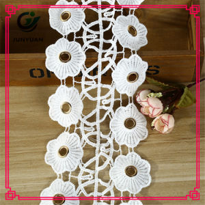 Hot Sale High Quality Crocheted Cotton Lace Garment Lace Trimming pictures & photos