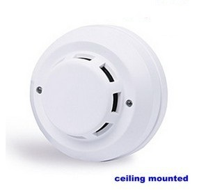DC 48V Optic Smoke Detector with Alarm System (UHSM48V) pictures & photos