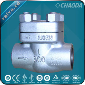 API Forged Steel Cryogenic Lift Check Valve pictures & photos
