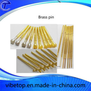 Export Custom-Made Brass Spring Test Probe Pogo Pin pictures & photos