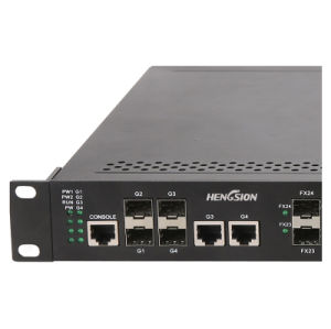 24 SFP+4G SFP Ports Industrial Ethernet Network Switch pictures & photos