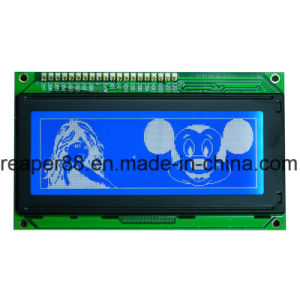 Yellow Green Monochrome LCD 192X64 COB LCD pictures & photos