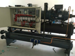 480000kcal/Htopchiller Water Cooled Screw Industrial Water Chiller pictures & photos