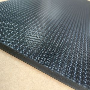 5.0mm Leather Grain PVC Vinyl Tile / Loose Lay / Free Lay Flooring pictures & photos