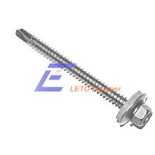 ISO15480-Hexagon Washer Head Drilling Screws with Tapping Screw Thread