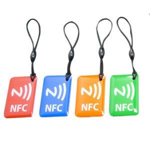 RFID Epoxy Label, RFID Tag, Sticker NFC Epoxy Keychain pictures & photos