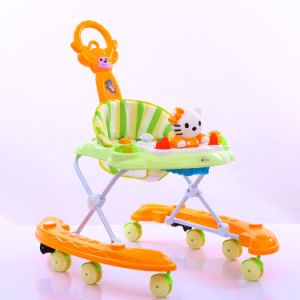 2017 New Fashion Multifunction Baby Walker Music Baby Walker pictures & photos