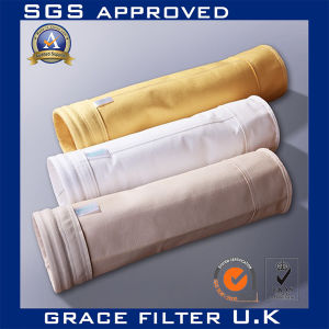 Pfb PTFE Filter Felt 700 GSM PTFE Pi Dust Collector Filter Bags pictures & photos