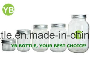 4oz 8oz 12oz 16oz 32oz Glass Mason Jar in Stock